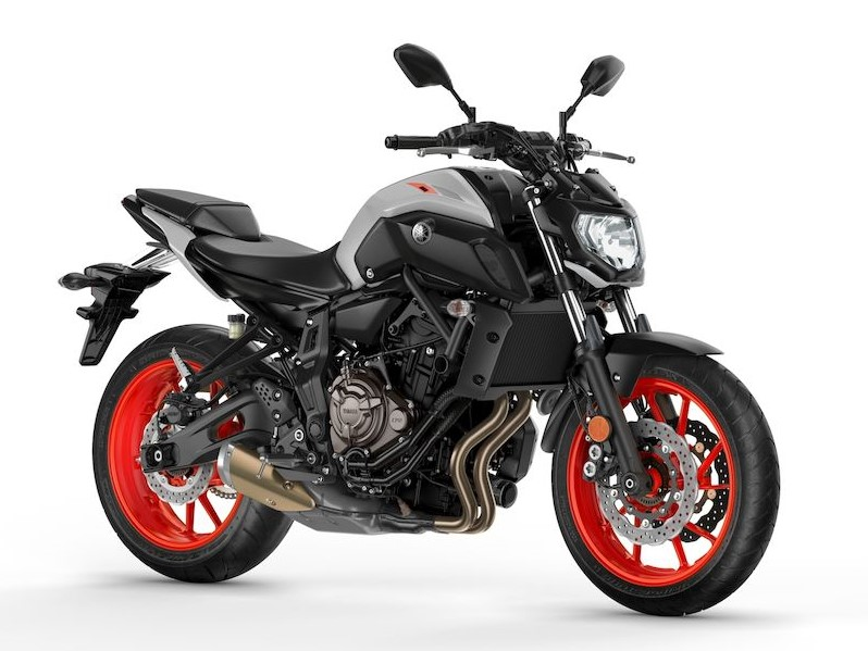 Yamaha MT07 ice fluo